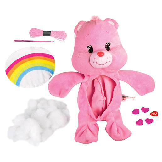 Image of Build Your Own Care Bear Soft Toy - Cheer Bear