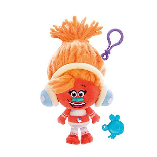 Image of DreamWorks Trolls Mega Soft Toy Keychain - Dj Suki