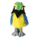 Large Bird Puppet - Blue & Gold Macaw