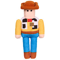 Disney Crossy Road Soft Toy Collectibles - Woody