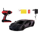 1:10 Black Lamborghini with Black Window Screen