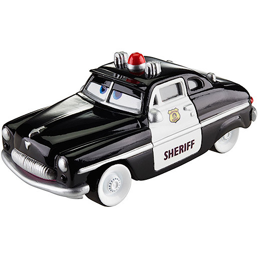 Image of Disney Cars Wheel Action Drivers Vehicle - Sheriff