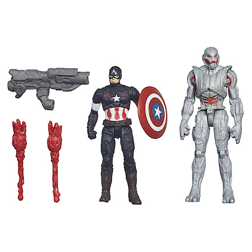 Image of Marvel Avengers Age of Ultron Captain America Vs. Ultimate Ultron