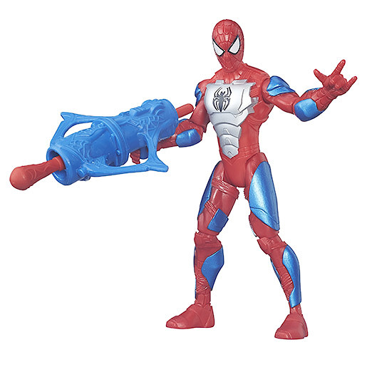 Marvel Ultimate SpiderMan Sinister 6 15cm Action Figure  Red Armoured SpiderMan