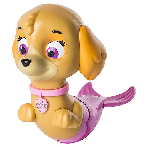 Paw Patrol Paddlin' Pups Bath Toy - Skye Merpup