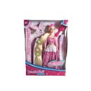 Bonnie Pink Blond Ultra Hair Princess Doll - Pink Dress