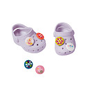 Baby Born Customisable Pin Shoes - Lilac