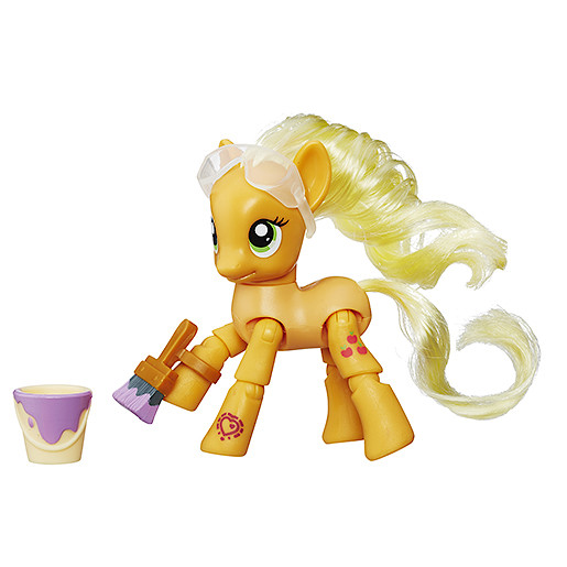 My Little Pony Applejack Painting Poseable Pony
