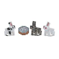 Minecraft Chase Bunnies Figures