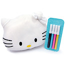 Hello Kitty Colour Me Soft Toy with Markers