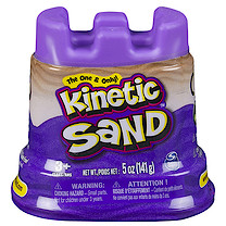 Kinetic Sand Container - Purple