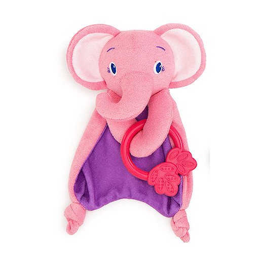 Image of Bright Starts Cosy Chew Teether Elephant