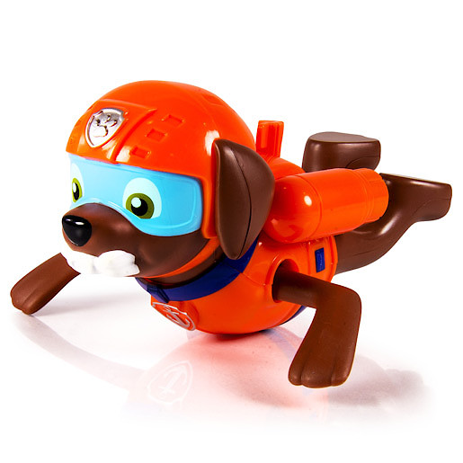 Paw Patrol Paddlin Pups Bath Toy - Zuma