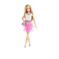 Barbie Fashionistas Doll - Pink Petals Skirt