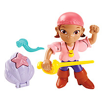 Disney Jake and Never Land Pirates Buccaneer Battling Action Figure - Izzy