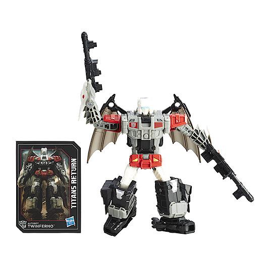 Transformers Generations Deluxe Daburu and Autobot Twinferno Figure