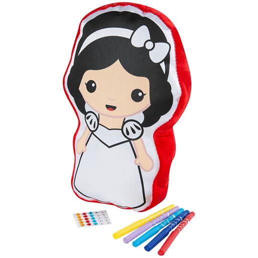 Emoji Princess Colour Your Own Cushion