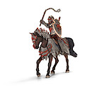 Schleich Dragon Knight on Horse with Flail