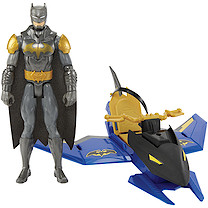 Batman 30cm Figure & Vehicle - Batjet