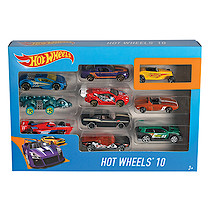 Hot Wheels 10 Car Giftpack (Styles Vary)