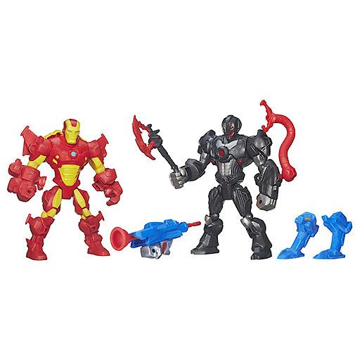 Marvel Super Hero Mashers Twin 2 Pack - Iron Man vs. Ultron  a7a4c9db04