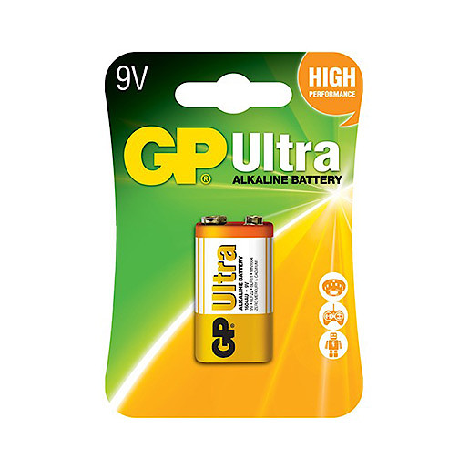GP Ultra 9V Battery Pack