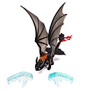 How To Train Your Dragon 2 Power Dragon - Toothless Ice Fling Action