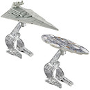 Hot Wheels Star Wars Die Cast Vehicle 2 Pack - Star Destroyer Vs. Mon Calamari Cruiser