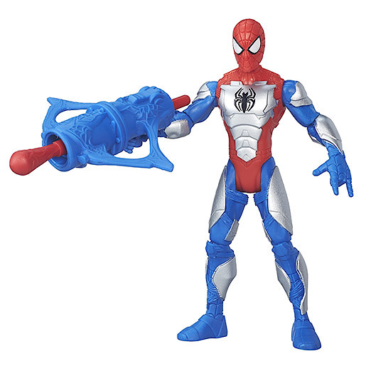 Marvel Ultimate SpiderMan Sinister 6 15cm Action Figure  Armoured SpiderMan