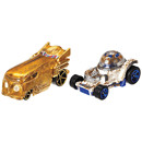 Hot Wheels Star Wars R2-D2 and C-3PO Character Cars
