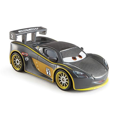 Image of Disney Pixar Cars Carbon Fibre Diecast Vehicle Lewis Hamilton