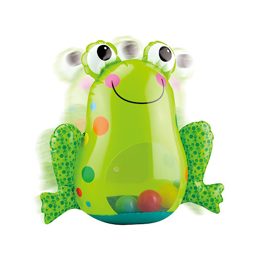 Little Hero Inflatable Roly Poly Frog