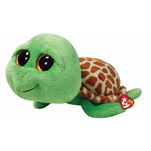 Ty Beanie Boos - 40cm Zippy the Turtle Large Soft Toy