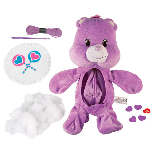 Image of Build Your Own Care Bear Soft Toy - Share Bear