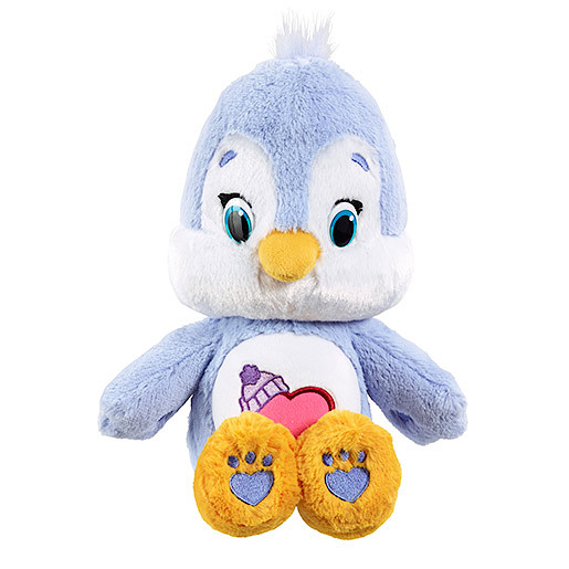 Image of Care Bears Medium Soft Toy with DVD - Cozy Heart Penguin