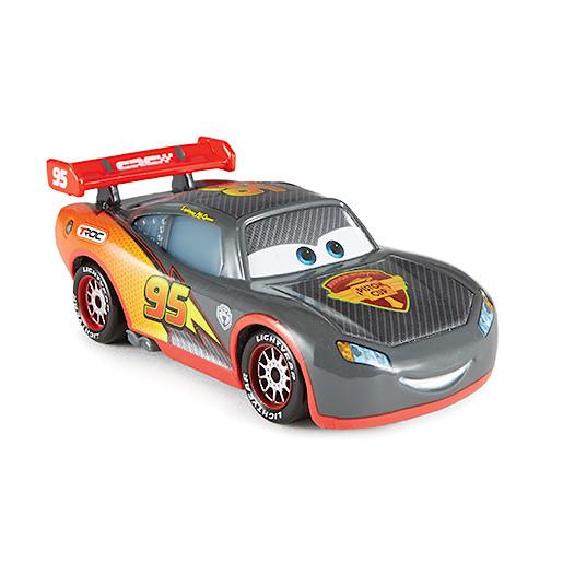 Image of Disney Pixar Cars Carbon Fibre Diecast Vehicle Lightning McQueen