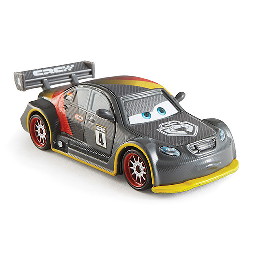 Image of Disney Pixar Cars Carbon Fibre Diecast Vehicle Max Schnell