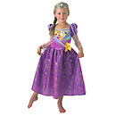 Disney Princess Shimmer Rapunzel Dress with Tiara - Small (3-4 years)