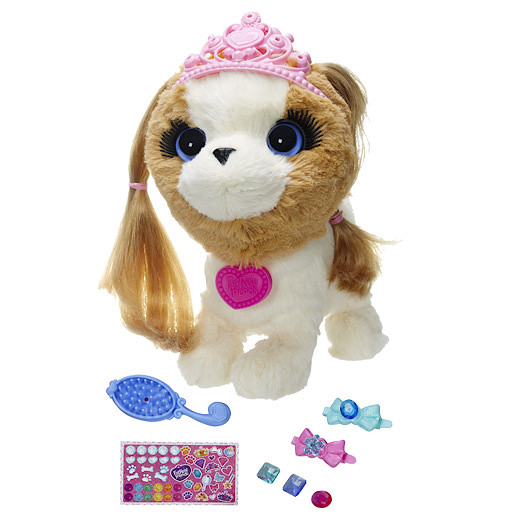 FurReal Friends Pets With Style  Groom N Style Princess Puppy