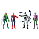 Marvel Spiderman Titan Hero Figure 4 Pack