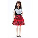 Barbie Fashionistas Doll - Ruby Red Floral
