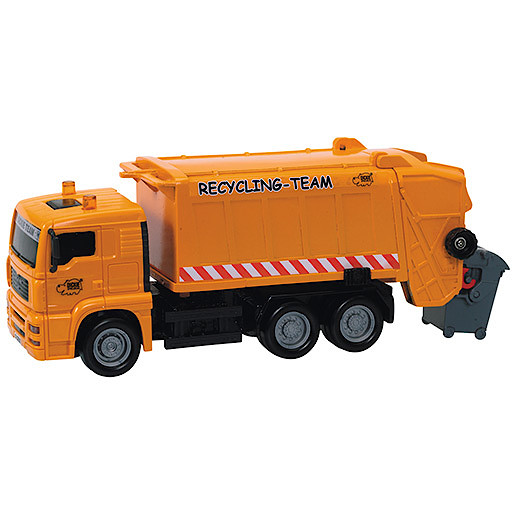 Image of City Team Orange Rubbish Truck