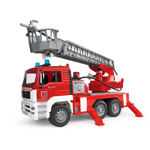 Bruder Man Tga Fire Engine With Ladder