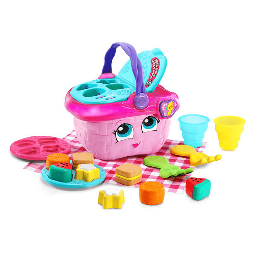 LeapFrog Shapes and Sharing Picnic Basket - Pink