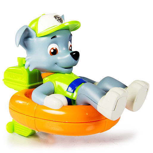 Paw Patrol Paddlin Pups Bath Toy - Rocky