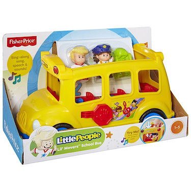 Fisher-Price Little People Lil\' Movers School Bus | Pre-school ...