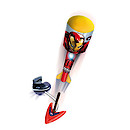 Marvel Avengers Sky Foam Rocket With Launch Base