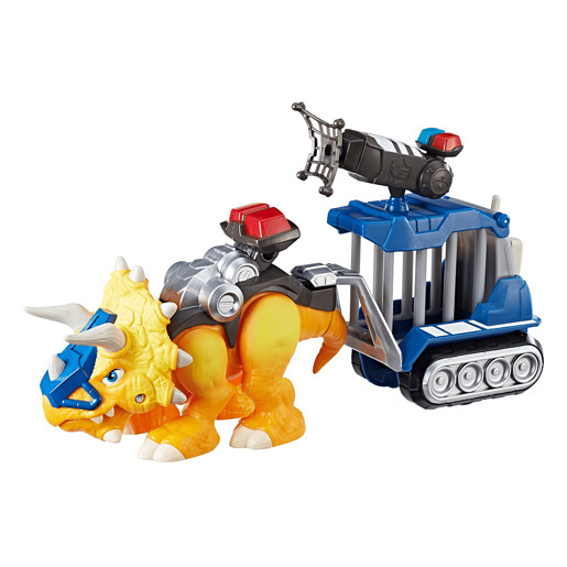 Playskool Heroes Chomp Squad Dino - Officer Lockup