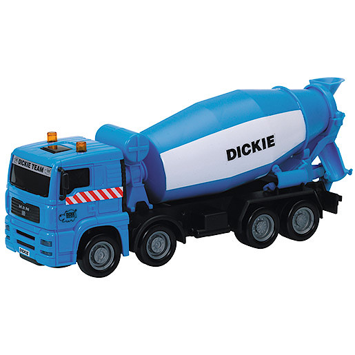 Image of City Team Blue Cement Mixer Truck