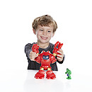 Playskool Heroes Marvel Super Hero Adventrues Stark Tech Armor With Tony Stark Figure